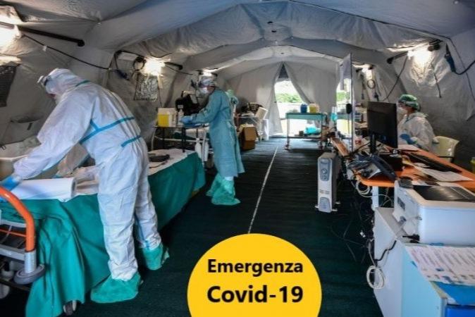 Raccolta fondi emergenza Covid-19 in Italia