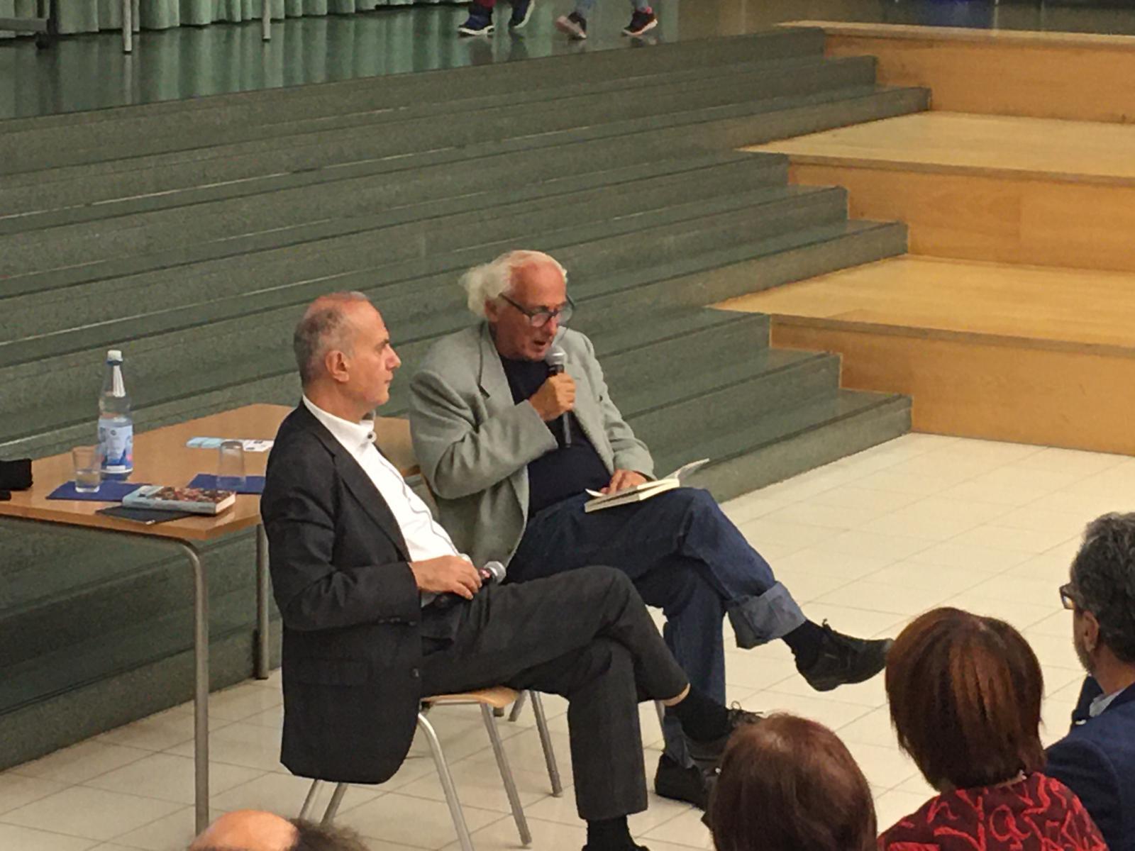 Stefano Benni a Francoforte per la Buchmesse 2019