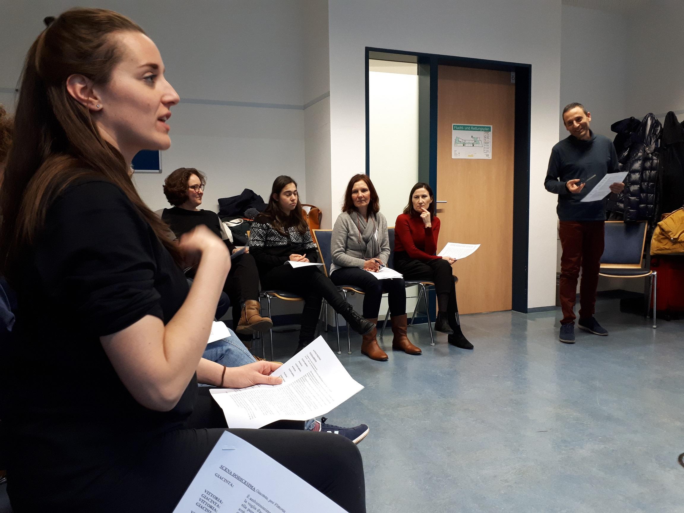 Workshop di tecnica vocale con Valeria Girelli